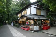 深大寺の茶屋