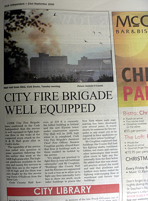 City Fire Brigade Well Equipped