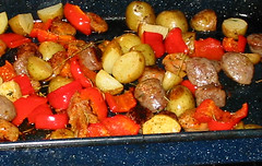sausages_potatoes_peppers