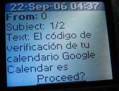 SMS de Google 1/2