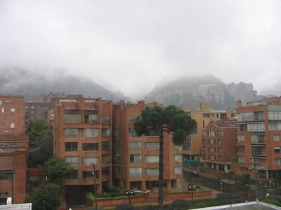 Vue de ma fenêtre - Bogota