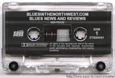 bluesinthenorthwest cassette