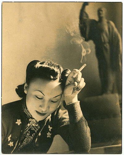 Natalie Zee's grandmother, Amy Wang, in the 1930s