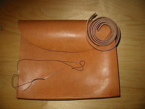 halbfertige Tasche