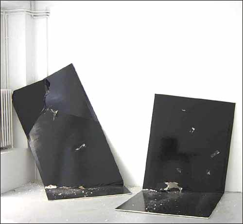 Steven Parrino, The No Title Painting, 2003