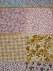 Fabric squares (5)
