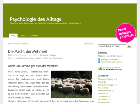 Psychologie des Alltags