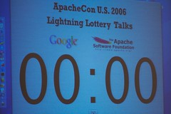 ApacheCon 2006: Lightning Lottery Talks