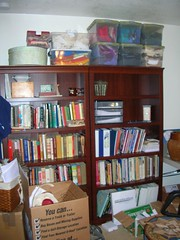 Workroom - shelves