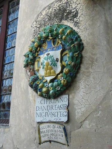 Closeup of a Magistrate's Seal, Palazzo Pretorio