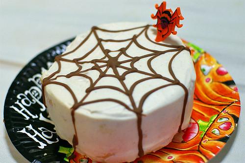 蜘蛛の巣ケーキ