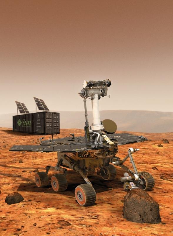 Blackbox Mars Rover