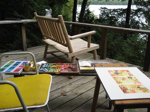 plein air drawing