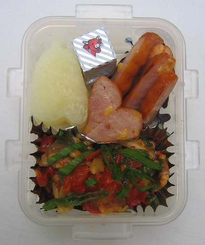 Enoki saute lunch for toddler