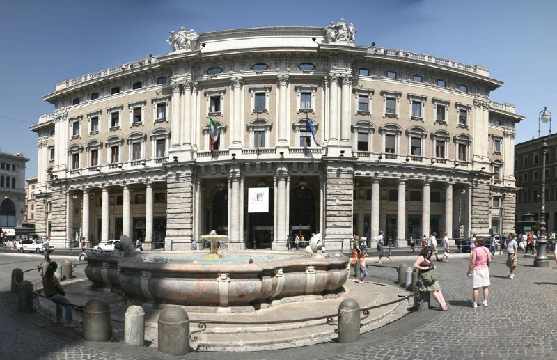 Palazzo Colonna, location of the Galleria Colonna