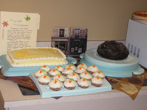 Cakes in Teacher's Lounge