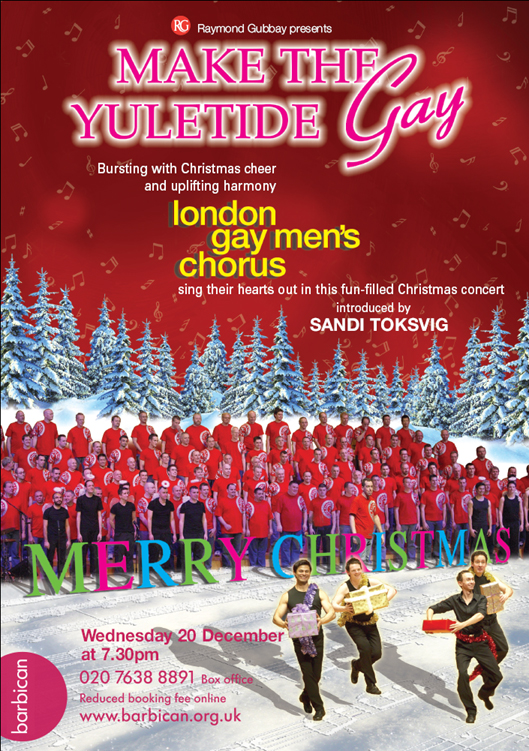 London Gay Men's Chorus, Make the Yuletide Gay 2006 - front