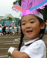幼稚園の運動会だよ