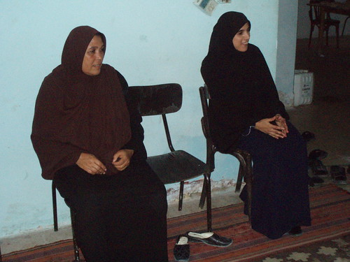 Hassan's mother Kawthar, and his sister Suheir