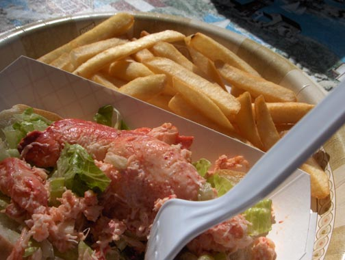 Lobster Roll at Bob Lobster