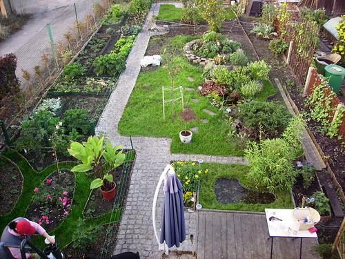 Vom Chaos Zum Garten In Der Elbaue: Dach (noch) Pfui, Aussicht Hui Gemusegarten Auf Dem Dach