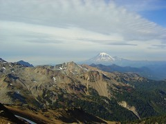 Rainier From Ridge...Here Come the Clouds