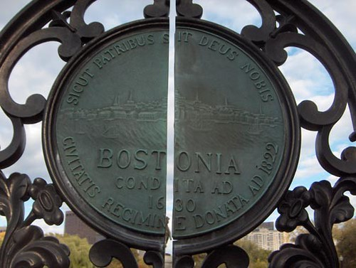 Gates to the Boston Public Garden