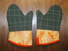 Denyse Schmidt oven mitts