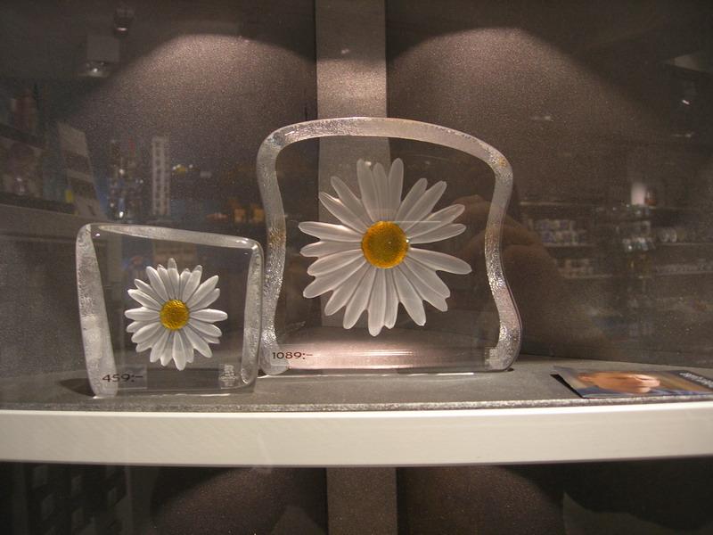 玻璃制品,瑞典的玻璃制品很有名气