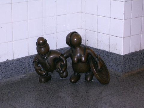 tom otterness life underground
