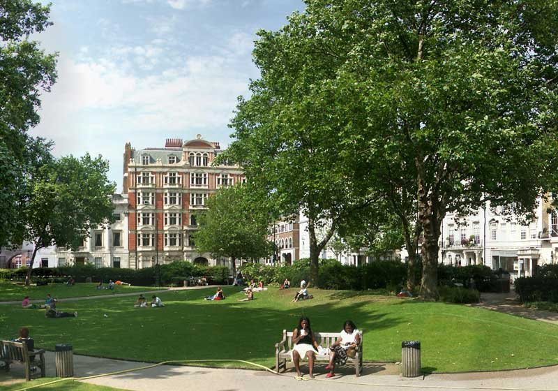 Cavendish Square in London