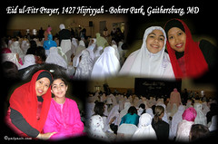 Eid ul Fitr Prayer 1427 H