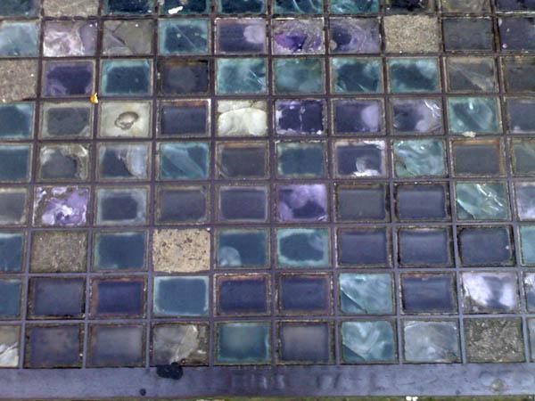 pavement glass