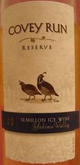 2003 Covey Run Semillon Reserve Ice Wine - Label
