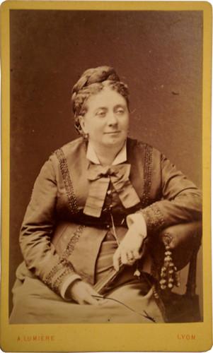 Jeanny Collomb (autour de 1875)