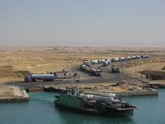 3827f Suez tank truck ferry