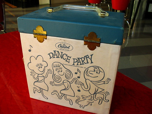 Dance Party Record Carrier: back