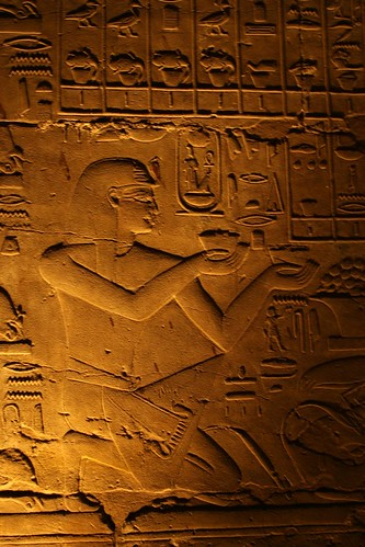 Reliefs of Offerings at Luxor
