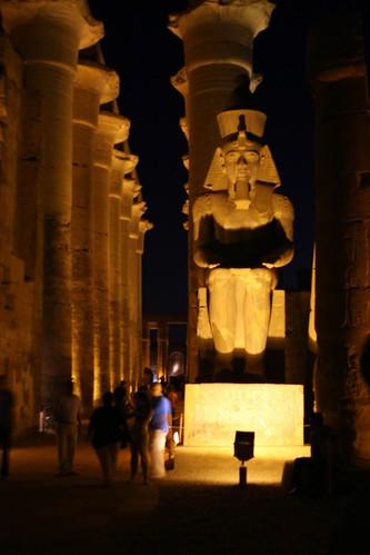 Luxor Temple's Columns