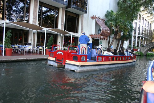 San Antonio - River Walk boat ride
