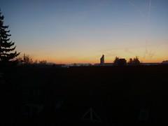 Balkonblick 6.20 Uhr