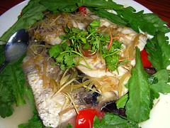 Steamed Fish Tail