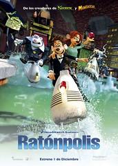 'Ratónpolis' de David Bowers y Sam Fell