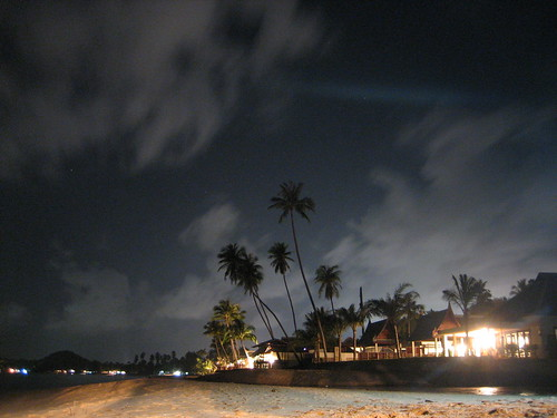 Maenam Beach By Night