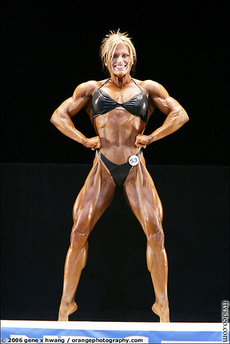 Britt Miller At The 2006 Women's NPC Championships