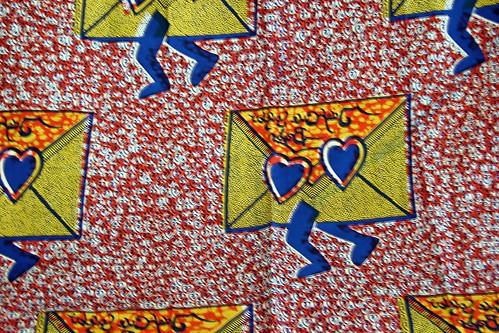 Wax Print - Love Letters