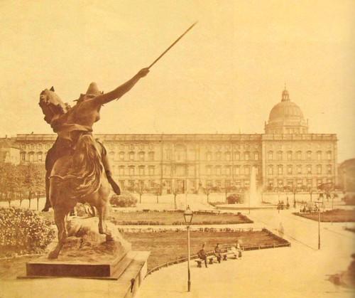 Blick vom Alten Museum