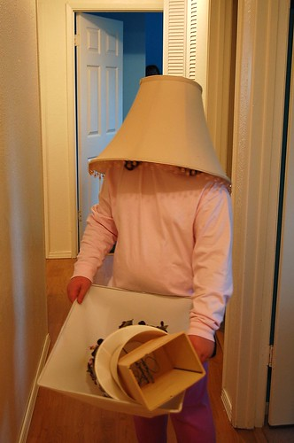 Lampshade head Stu