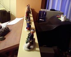 An army of knick-knacks