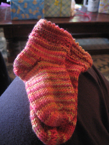 socks for a high energy fetus